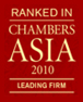 2010 Chambers Asia Firm